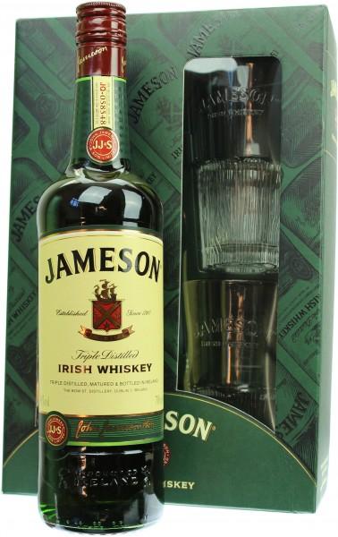 Jameson Geschenkset mit 2 Gläsern