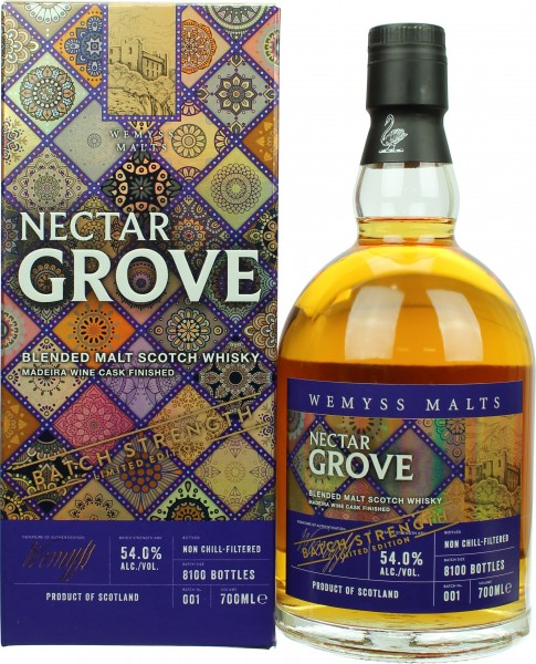 Wemyss Malts Nectar Grove Batch Strength Madeira Finish