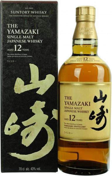 Suntory Yamazaki (Japan) 12 Jahre 43.0% 0,7l