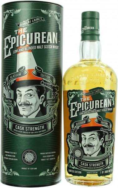 The Epicurean Cask Strength 58.6% 0,7l