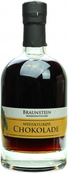 Braunstein Whisky Liqueur Chocolate