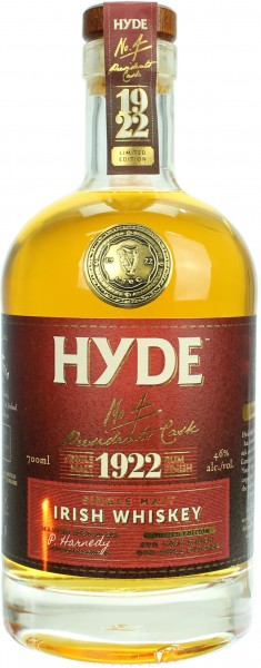 Hyde No. 4  Rum Cask Finish 6 Jahre 46.0% 0,7l