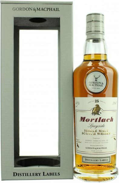 Mortlach 25 Jahre Distillery Label G&M 43.0% 0,7l