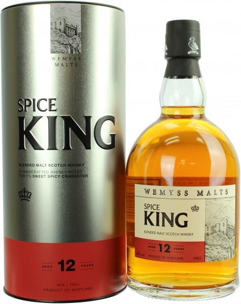 Wemyss Malts Spice King 12 Jahre 40.0% 0,7l