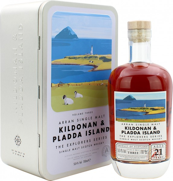 Arran 21 Jahre Kildonan & Pladda Island The Explorer Series #3