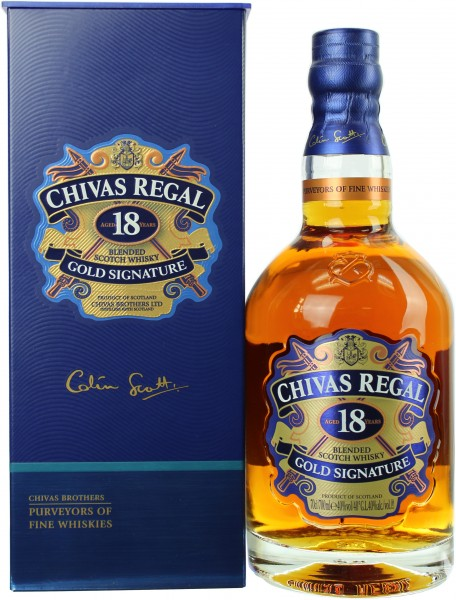 Chivas Regal 18 Jahre 40.0% 0,7l
