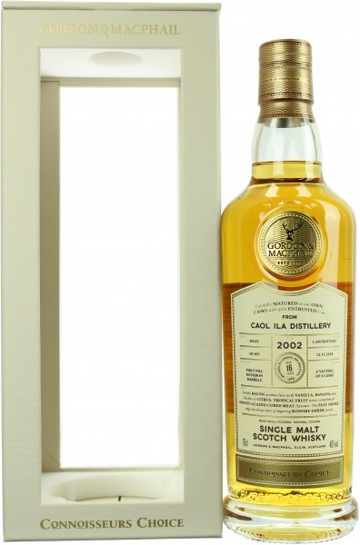 Caol Ila 16 Jahre 2002/2018 G&M Connoisseurs Choice 46.0% 0,7l