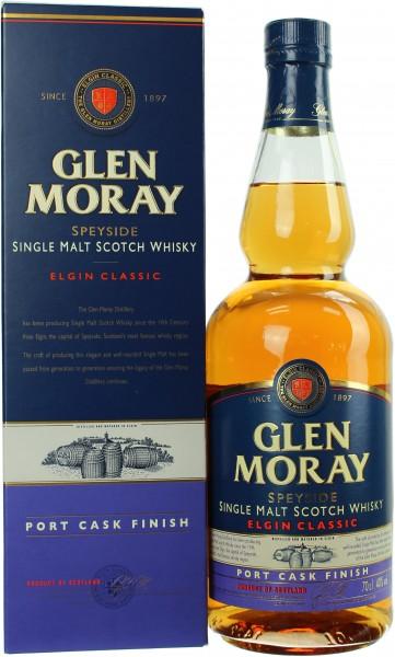 Glen Moray Elgin Port Cask Finish 40.0% 0,7l