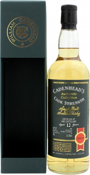 Ord Distillery 12 Jahre 2006/2018 Authentic Collection Cadenhead's