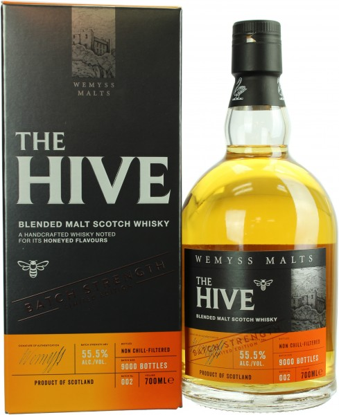 Wemyss Malts The Hive Batch Strength 55.5% 0,7l