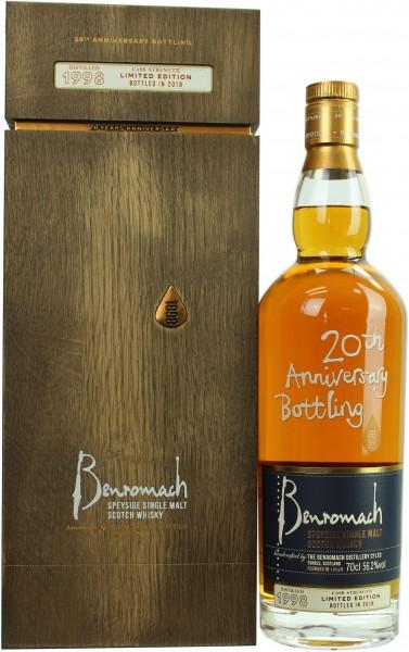Benromach 20th Anniversary Bottling 1998/2018