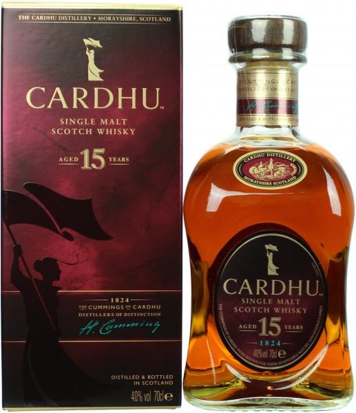 Cardhu 15 Jahre 40.0% 0,7l