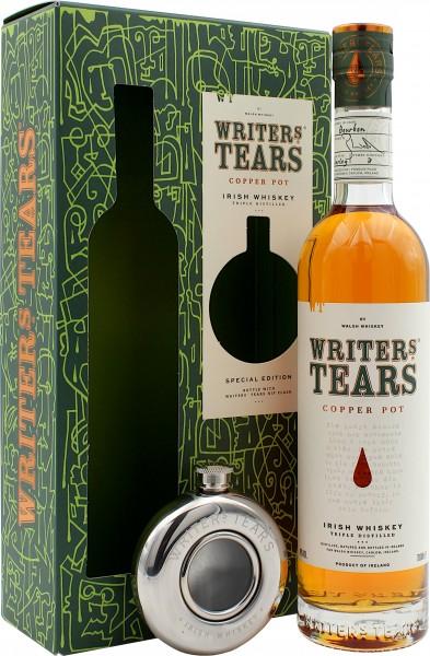 Writer's Tears Geschenkset mit Flachmann