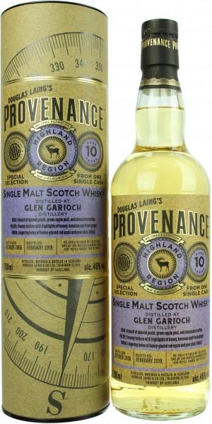 Glen Garioch 10 Jahre 2008/2019 Provenance 46.0% 0,7l