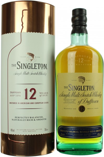 The Singleton of Dufftown 12 Jahre Kupferbox 40.0% 0,7l