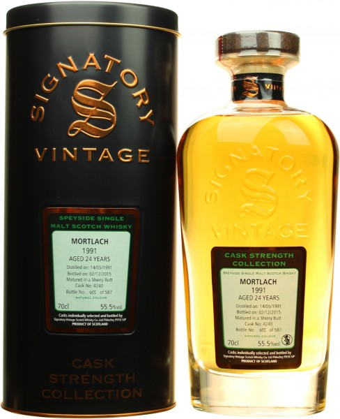 Mortlach 24J-1991/2015 Signatory 55.5% vol