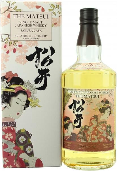 Matsui Single Malt Sakura Cask 48.0% 0,7l