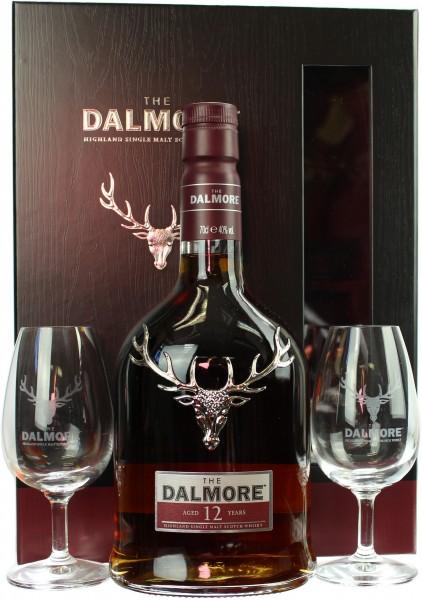 Dalmore 12 Jahre Geschenkset mit 2 Nosing Gläsern 40.0% 0,7l