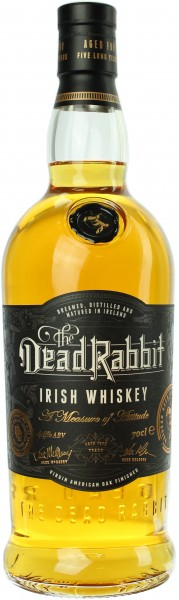 The Dead Rabbit Irish Whiskey 44.0% 0,7l