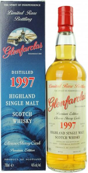 Glenfarclas Oloroso Sherry Cask 1997/2018 46.0% 0,7l
