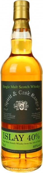 Islay Single Malt Spirit & Cask Range