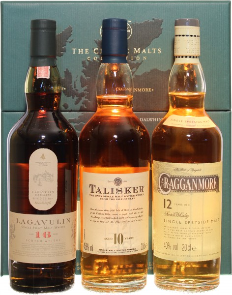 Classic Malts Strong 42,93% 3x200ml