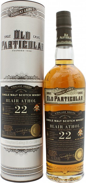 Blair Athol 22 Jahre 1997/2019 Old Particular Single Cask Germany