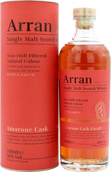 Arran Amarone Cask Finish 2020