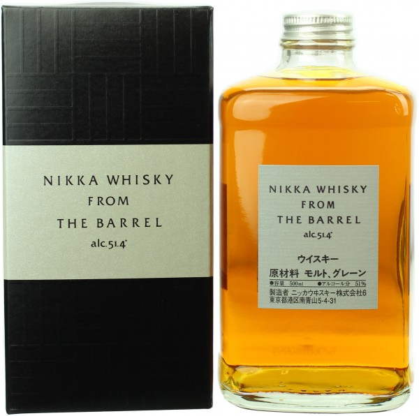 Nikka From The Barrel (Japan) 51.4% 0,5l