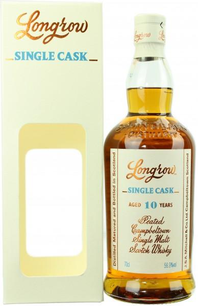 Longrow 10 Jahre Single Sherry Cask 2018 56.9% 0,7l