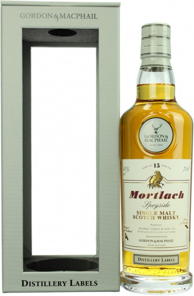 Mortlach 15 Jahre Distillery Label 2018 G&M 43.0% 0,7l