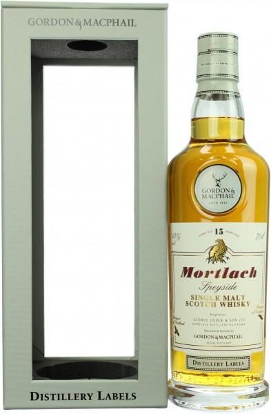 Mortlach 15 Jahre Distillery Label 2018 G&M 43.0% 0,7l