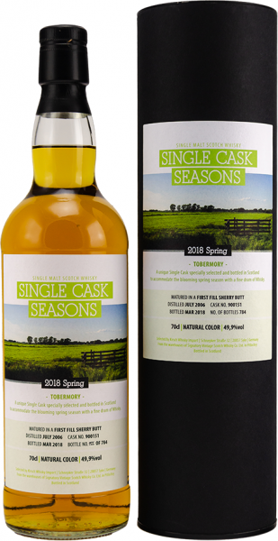 Tobermory 2006/2018 Single Cask Seasons Spring 2018