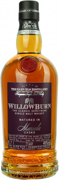 Willowburn Marsala Cask Matured 2019 Batch 1 46.0% 0,7l