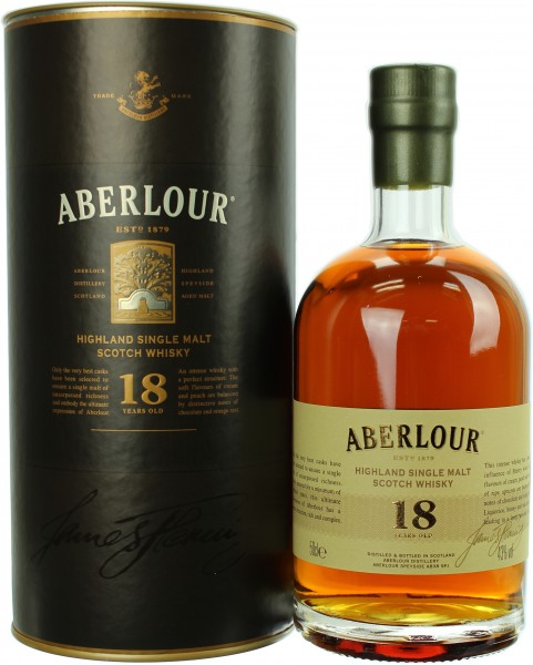 Aberlour 18 Jahre 43.0% 0,5l