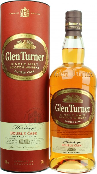 Glen Turner Heritage Double Cask 40.0% 0,7l