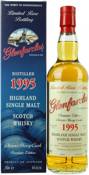 Glenfarclas Oloroso Sherry Cask 1995/2018 46.0% 0,7l