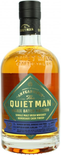 The Quiet Man 12 Jahre Bordeaux Cask Finish 46.0% 0,7l