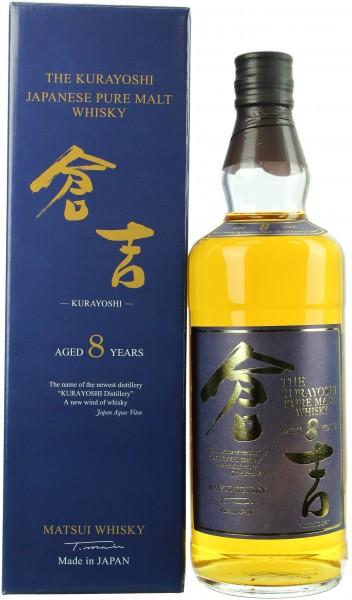 Kurayoshi Pure Malt 8 Jahre 43.0% 0,7l