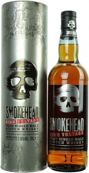 Smokehead High Voltage 58.0% 0,7l