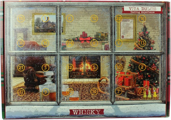 Whisky Adventskalender Premium 2018 47,46% 24x20ml