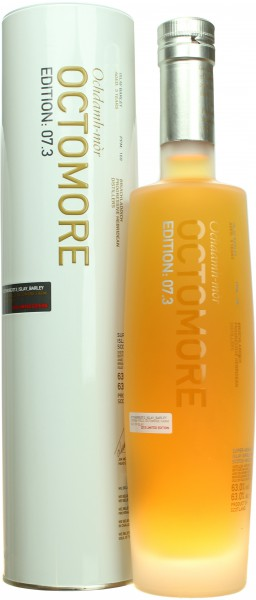 Octomore 7.3: Islay Barley  PPM:169