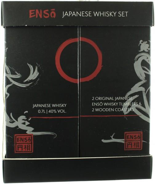 Enso Blended Japanese Whisky Geschenkset mit Glas (Japan) 40.0% 0,7l