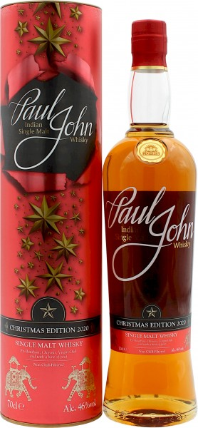 Paul John Christmas Edition 2020 Peated Oloroso Sherry Finish (Indien)