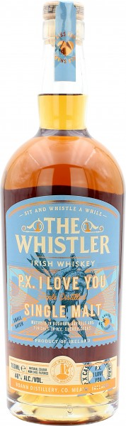 The Whistler P.X. I Love You Irish Single Malt