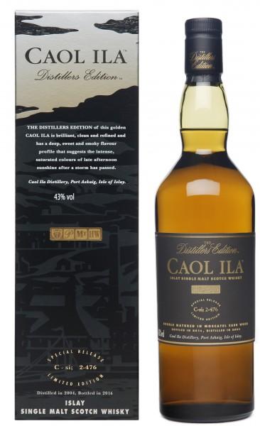 Caol Ila Distillers Edition 2004/2016 43.0% 0,7l