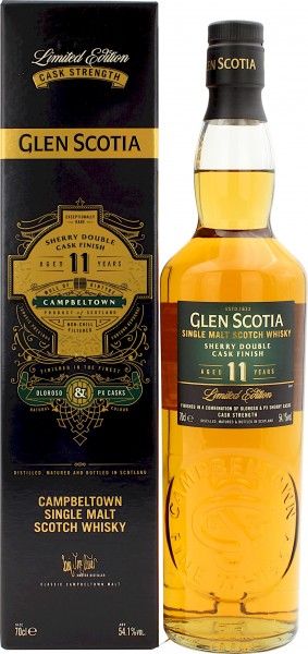 Glen Scotia 11 Jahre Sherry Double Cask Finish Limited Edition 2020