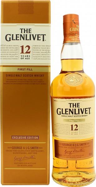 Glenlivet 12 Jahre First Fill