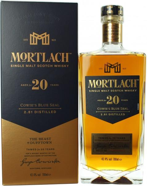 Mortlach 20 Jahre 43.4% 0,7l