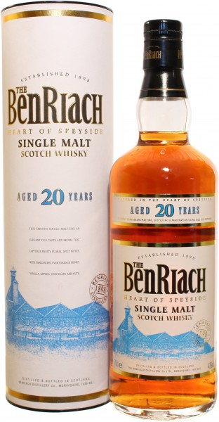 Benriach 20 Jahre 43.0% 0,7l